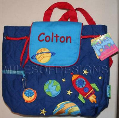 Toddler Backpack Personalized Stephen Joseph Space New Custom Name