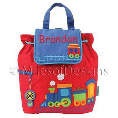 Toddler Backpack Personalized Stephen Joseph Train New Custom Name