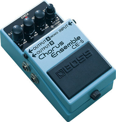 Boss CE5 Chorus Ensemble Guitar Effects Pedal - CE-5