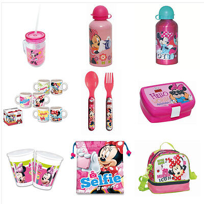 Minnie Mouse Dinnerware & Lunchboxes (Various)