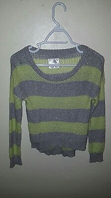 *Justice sweater size 12*