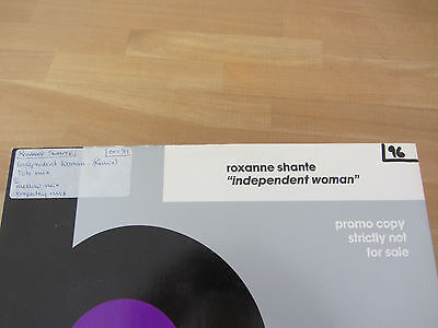 "Roxanne Shante ~ Independent Woman ~ 1989 Hip Hop 12"" ~ C.j. Mackintosh Remixes"