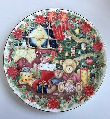 Royal Doulton Decorative Plate Together For Christmas