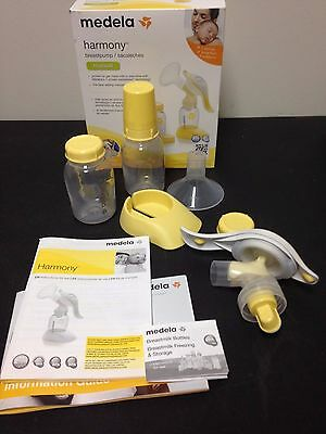 Medela Manual Breast Pump Harmony Series Two Bottles and 24 MM Breast Shield