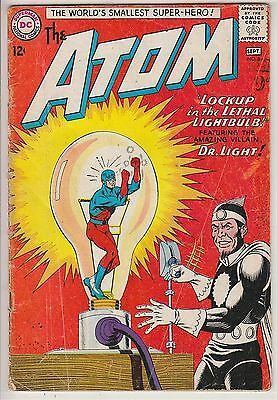 ATOM    V1 # 8  VG / VG+ IN HIS OWN BOOK  12cts 1963   AMERICAN DC COMIC