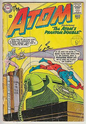 ATOM    V1 # 9  VG / VG+ IN HIS OWN BOOK  12cts 1963   AMERICAN DC COMIC