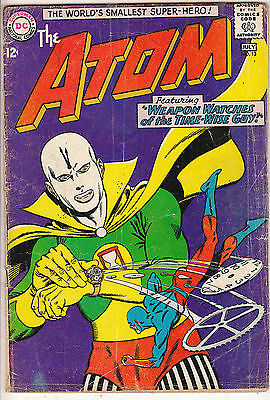 ATOM    V1 #13    VG+ / VG  IN HIS OWN BOOK  12cts 1964   AMERICAN DC COMIC D