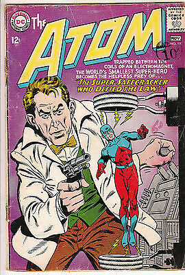 ATOM    V1 #15    VG+ / VG  IN HIS OWN BOOK  12cts 1964   AMERICAN DC COMIC D