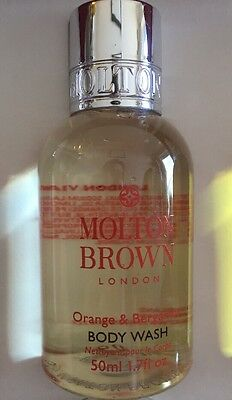Orange And Bergamot Molton Brown 50ml New