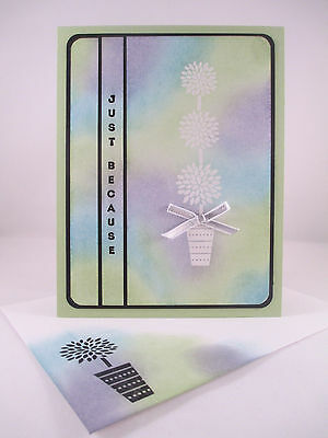 """Stampin Up """"Vertical Greetings"""" Handmade Any Occasion Card"""