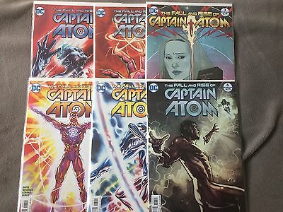 The Fall and Rise of Captain Atom issues 1 2 3 4 5 mini series DC Rebirth