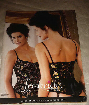 Frederick's of Hollywood 1999 Autumn Enticements Catalog Women's Fashion