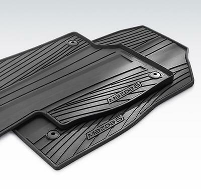 All Weather Floor Mats >> Genuine Oem 2014 2019 Mazda6 Winter Rubber All Season Floor