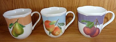 Lenox Orchard In Bloom Mugs Set Of 3