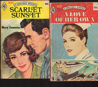 Lot of 7 Harlequin Romance Paperbacks