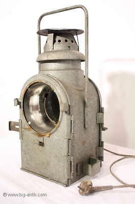 Wunderschöne antike Bergbau-Lampe / Minenlampe / Antique Mine Worker Lamp