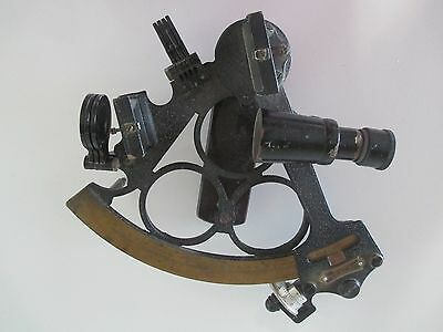 Antique / Vintage HEZZANITH SEXTANT ~ Endless Rapid Reader ~ Automatic Clamp