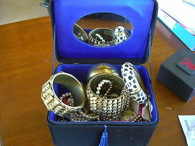 Bundle Lot Of Mixed Costume Jewellery Comes With Nice Jewellery Box