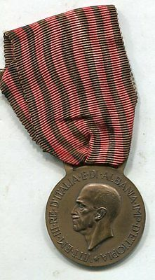 Italy WW2 Expedition Albania Commemorative  Medal Albanian Campaign 1939