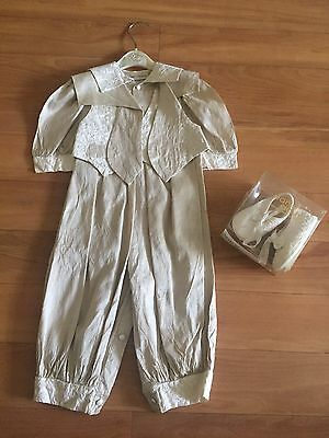 Little Darlings Boys Christening/Wedding Outfit Silk  Age 18 Month Immaculate Co