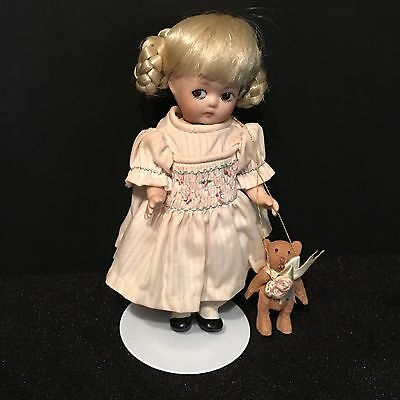 """Marie Osmond Porcelain Doll  """"Petite Amour""""'  Limited Edition   """"Goldie"""" NIB"""