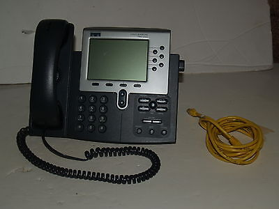 Cisco 7960 Unified VOIP IP Phone System for Business-POE-Office CP-7960G