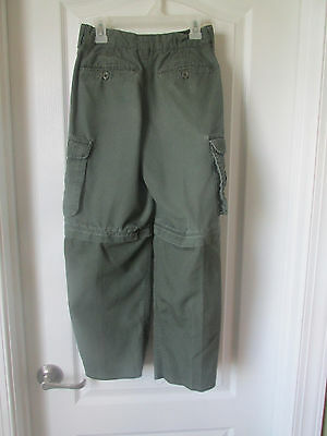 Official Boy Scout of America Convertible Uniform Pants SizeYouth 8