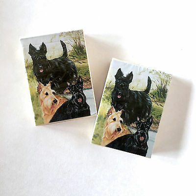 2 Packs Scottish Terrier Playing Cards~Best Friends by Ruth Maystead~NOS