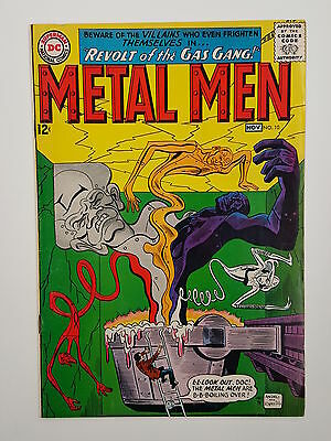 Metal Men #10 VF DC Comics Revolt of the Gas Gang Will Magnu Robert Kanigher
