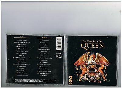 Queen 2 Cd Set. The Very Best Of..rare Greatest Hits..canada Only