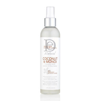 Design Essentials Natural Almond Avocado Leave In Conditioner 8 Oz