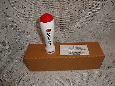 Molson Canadian Red White Beer Tap Handle Draft - NEW IN BOX