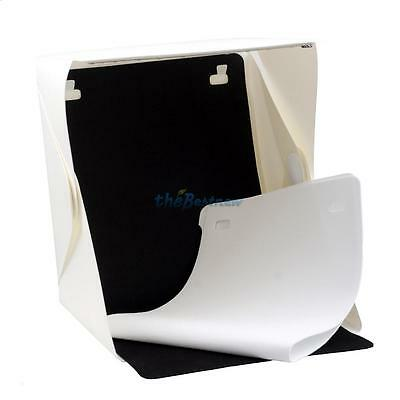 "Light Room Mini Photo Studio 9"" Lighting Tent Kit Backdrop Cube Box"
