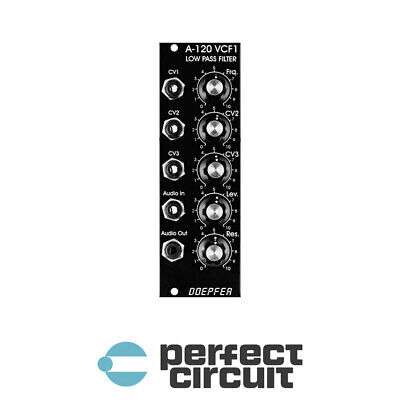 Doepfer A-120V VCF1 24dB Low Pass Filter EURORACK - NEW - PERFECT CIRCUIT