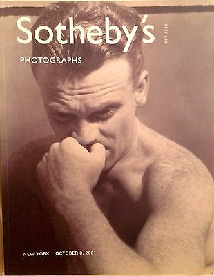 Sotheby's Photographs Auction Catalog Oct. 3, 2001, 214 pages, Ansel Adams, etc.