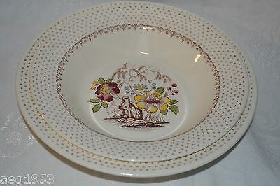 Cream Royal China Chippendale Serving Bowls Set of 2