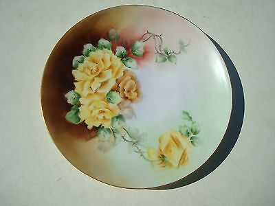 Beautiful Hand Painted Plate from Weimac Germany
