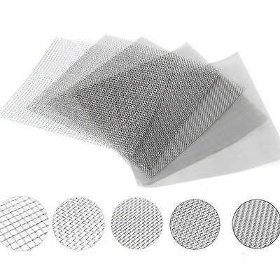 Stainless Steel #4 to #400 Mesh Micron True Fine Screen Filtration Filter