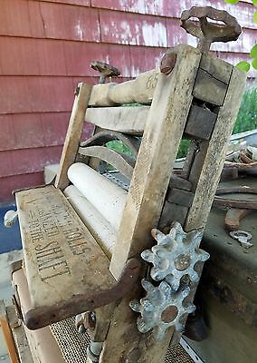 antique clothes wringer no 652 collectible laundry vintage country washer