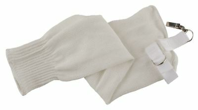 "Ansell Spectra® Sleeve, 21""L, Knitted Cuff, White White   74-021"