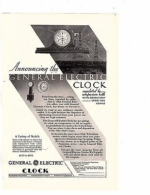 General Electric Clock Variety of Models Vintage AdS 2 IN AUCTION