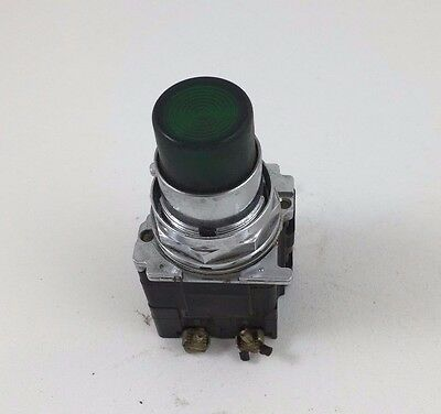 Cutler-Hammer Green Push Test Pilot Light 120VAC 30MM 10250T74NG