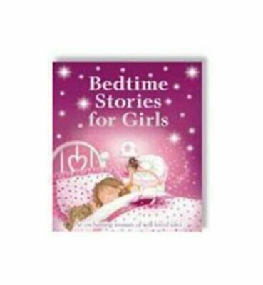 Bedtime Stories for Girls by Joff Brown Hardback Book The Cheap Fast Free Post