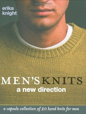 Men's Knits by Erika Knight Hardback Book The Cheap Fast Free Post