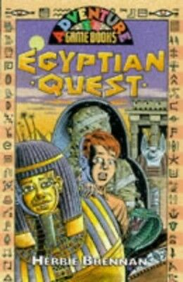 Egyptian Quest (History Adventure Game Book) by Brennan, Herbie Paperback Book