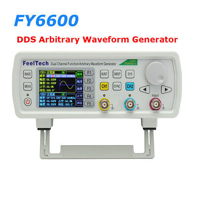 12-60MHz Dual Channel Arbitrary Waveform DDS Function Signal Generator FY6600S