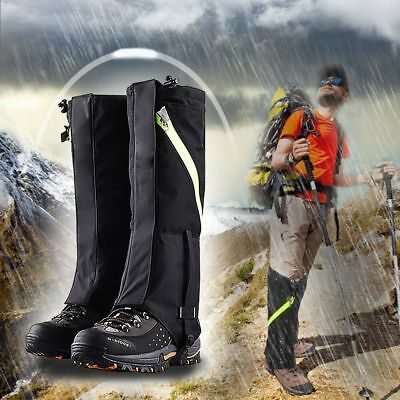Outdoor Snow Proof Hiking Leg Legging Gaiters Durable Podotheca Long Shoes Cover