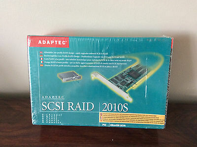 **New** & unopened Adaptec SCSI RAID 2010S
