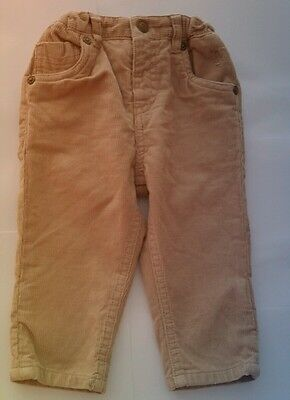 Baby BURBERRY Boy Brown Corduroy Trousers Cord Pants Chinos NEW 9 12 months GIFT