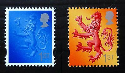 GB 2003 Scotland 1st Class Colour Trial with Normal NEW LOWER PRICE NB2321